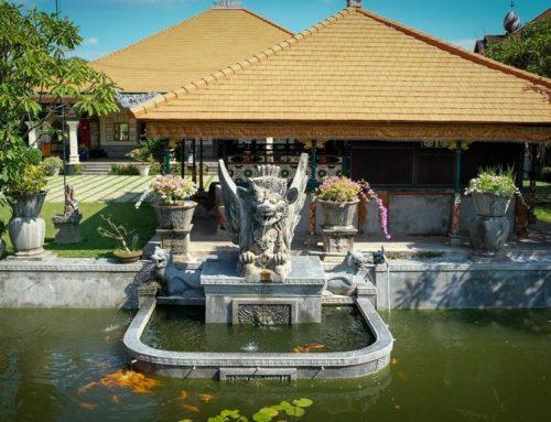 Indahnya Puri Agung Karangasem, Arsitektur TigaBudaya