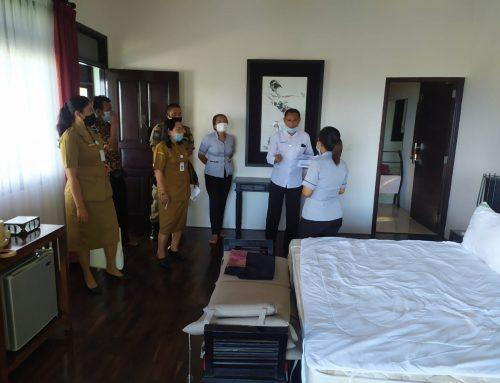 Melaksanakan kegiatan verifikasi CHSE terhadap 3 villa