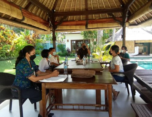 Dinas Pariwisata Kabupaten Karangasem melaksanakan verifikasi CHSE terhadap 3 villa