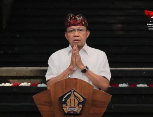 Pidato Gubernur Bali Ngrastiti Bhakti- Memuliakan Warisan Agung Leluhur Bali Dengan Visi Nangun Sat Kerthi Loka Bali